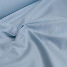 Tessuto di cotone blu celeste