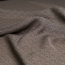 Silk fabric Herringbone pattern