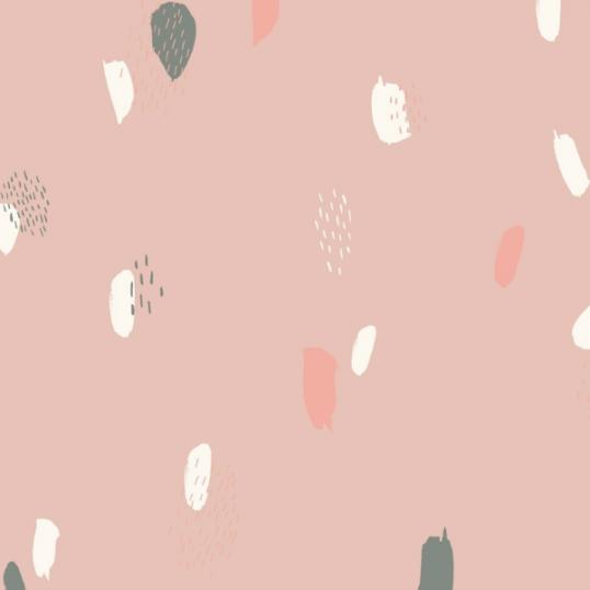 Tessuto Viscosa Atelier Brunette Moonstone Pink