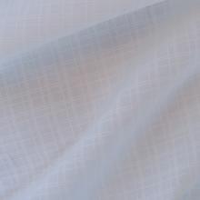 scampolo di cotone fil-à-fil bianco 77 cm x 155 cm