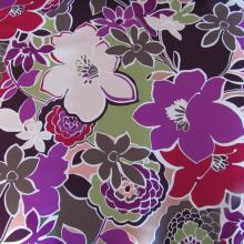 cotton remnant Happy Flowers 95 cm x 150 cm