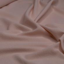 light pink blush viscose crepe remnant 91 cm x 148 cm