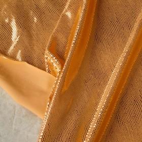 Glitter skin peach modal remnant 190 cm x 138 cm