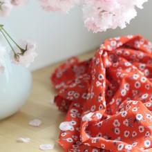 Cotton lawn Fabric Garance
