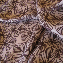 Cotton Fabric Tropical leaves