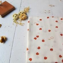 Scampolo Viscosa Atelier Brunette Cosmic  Chestnut 37 cm x 140 cm