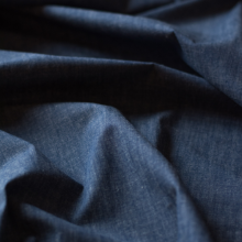 Cotton denim fabric with stretch