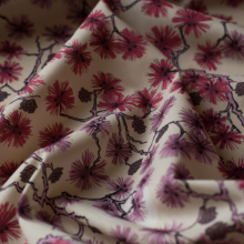 Liberty Fabric Cherry blossoms