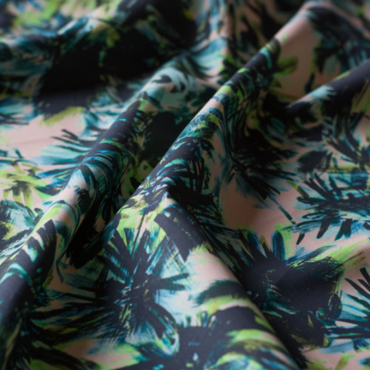 "Cotton fabric ""Tropical"""