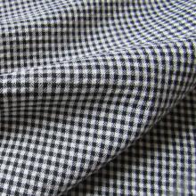 Vichy seersurcker fabric  white and black