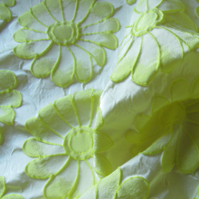 Polyester fabric Daisies