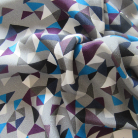 Viscose fabric Kaleidoscope