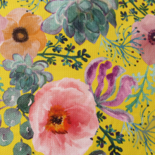 Cotton & Linen Fabric Anemones