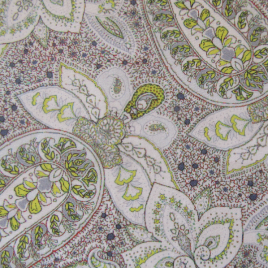 Cashmere pattern Cotton fabric