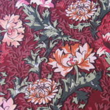 Autumnal pattern Cotton fabric