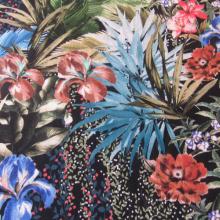 Tropical Viscose fabric