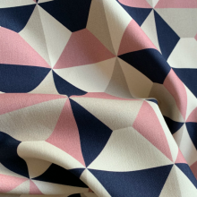 Geometric pattern Cotton fabric