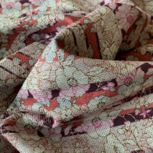 Jersey fabric Punto Milano Floral pattern
