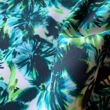 Tropical Scuba fabric