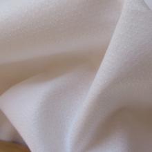 "Remnant Cotton fabric ""White Shirt"" Herringbone 52 cm x 153 cm"