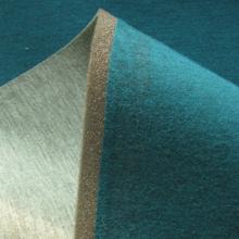 Remnant Scuba fabric Emerald Almond 123 cm x 150 cm