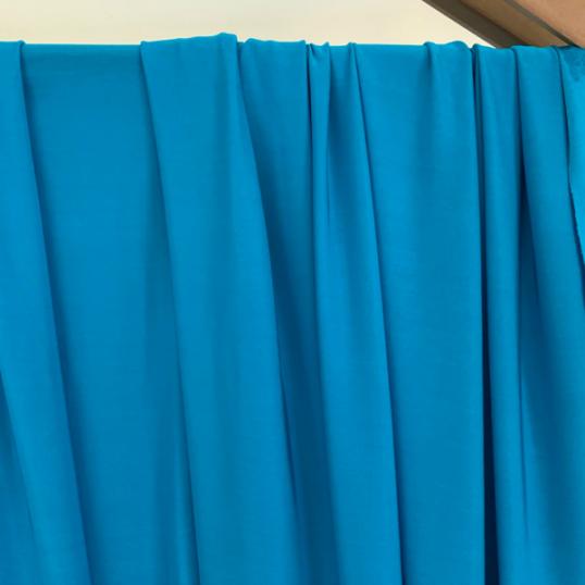 Viscose Jersey fabric Turquoise