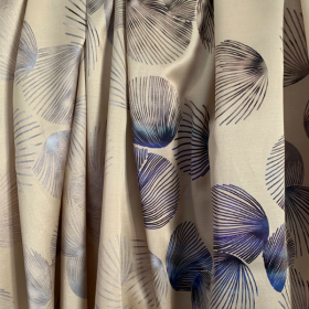 Silk & Viscose Seashells