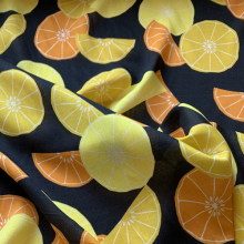 Lemons and oranges Viscose Dolce & Gabbana