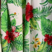 Hisbiscus Cotton fabric