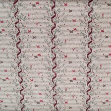 Remnant Ritornello cotton fabric 170 cm x 148 cm