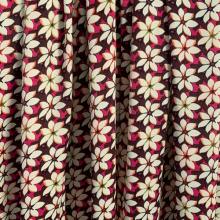 Remnant Floral Viscose Giambattista Valli 97 cm x 148 cm
