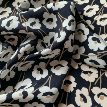Floral Viscose  Art Deco