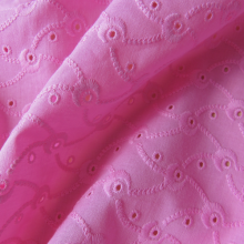 "Pink Broderie Anglaise ""Volutes"""