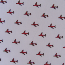 Remnant Aircrafts pattern Cotton fabric 92 cm X 150 cm