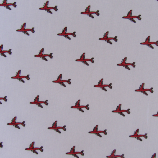 Remnant Aircrafts pattern Cotton fabric 92 cm X 150 cm