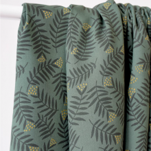 Viscose Fabric Rameaux Smoke Green