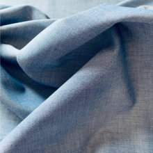Remnant Cotton Chambray fabric 67 cm x 155 cm