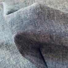 Remnant Linen Jeans fabric Blue Denim 70 cm x 140 cm