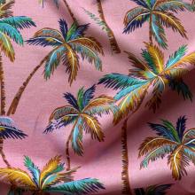 Remnant Linen fabric Miami 34 cm x 135 cm