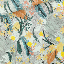 Tropic Flowers Viscose