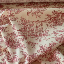 Cotton fabric Toile de Jouy