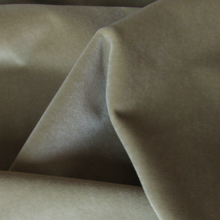 Cotton velvet fabric Sand
