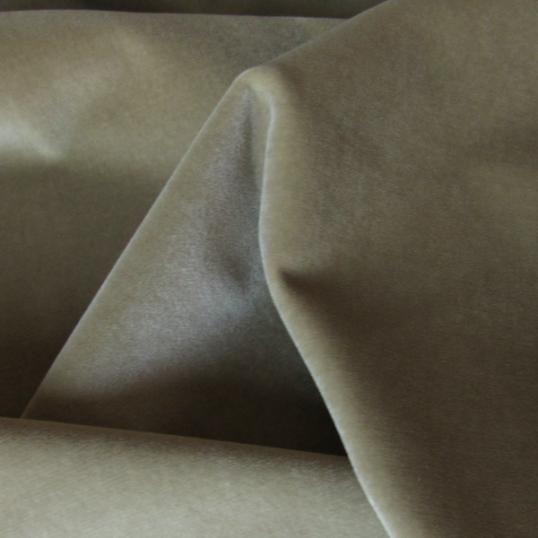 Cotton velvet fabric Sand