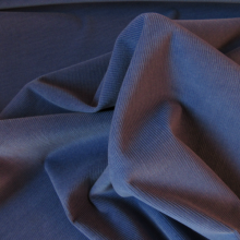 Periwinkle Corduroy Cotton fabric