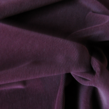Burgundy Corduroy Cotton fabric