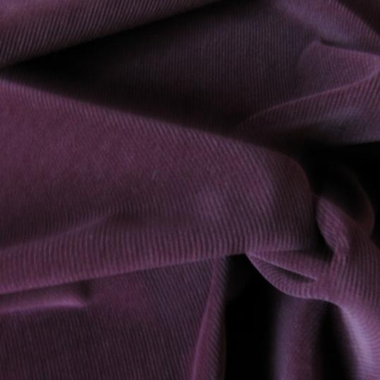 Burgundy Corduroy Cotton fabric