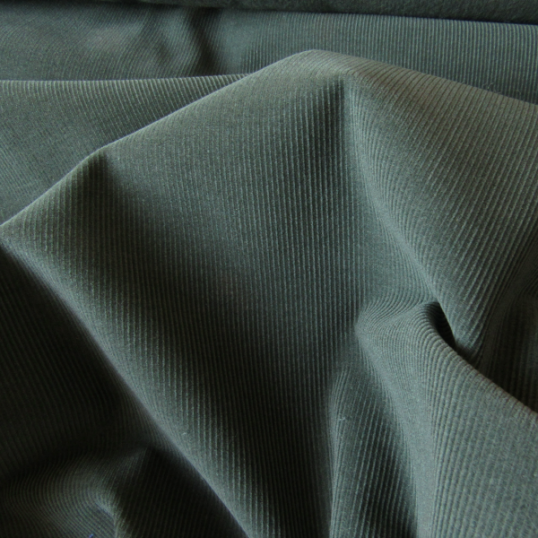 Green Sage Corduroy Cotton fabric