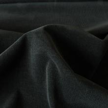 Black Corduroy Cotton fabric