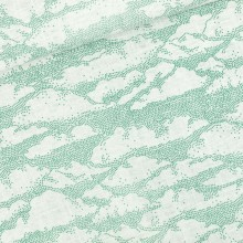 French Terry knit fabric Clouds