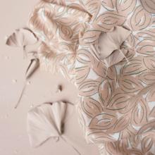 Cotton Gauze Petal Maple